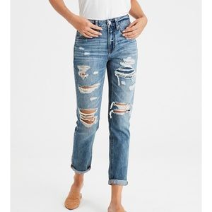American Eagle High-Waisted Tomgirl Jean.